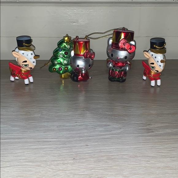 Hello Kitty/ tokidoki nutcracker bundle